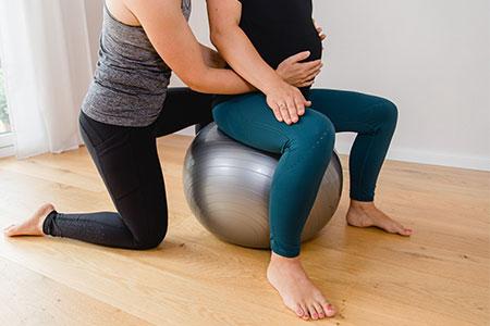 Rückenfitness für Schwangere