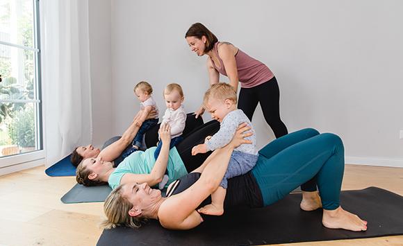Kurse in Vaterstetten Pilates mit Baby