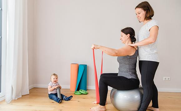 Personal Training mit Baby Vaterstetten