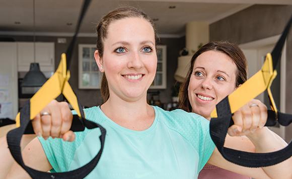 Personal Training und Kurse für Frauen TRX