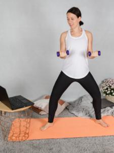 Online Personal Training für Frauen