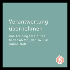 Verantwortung übernehmen Online Training